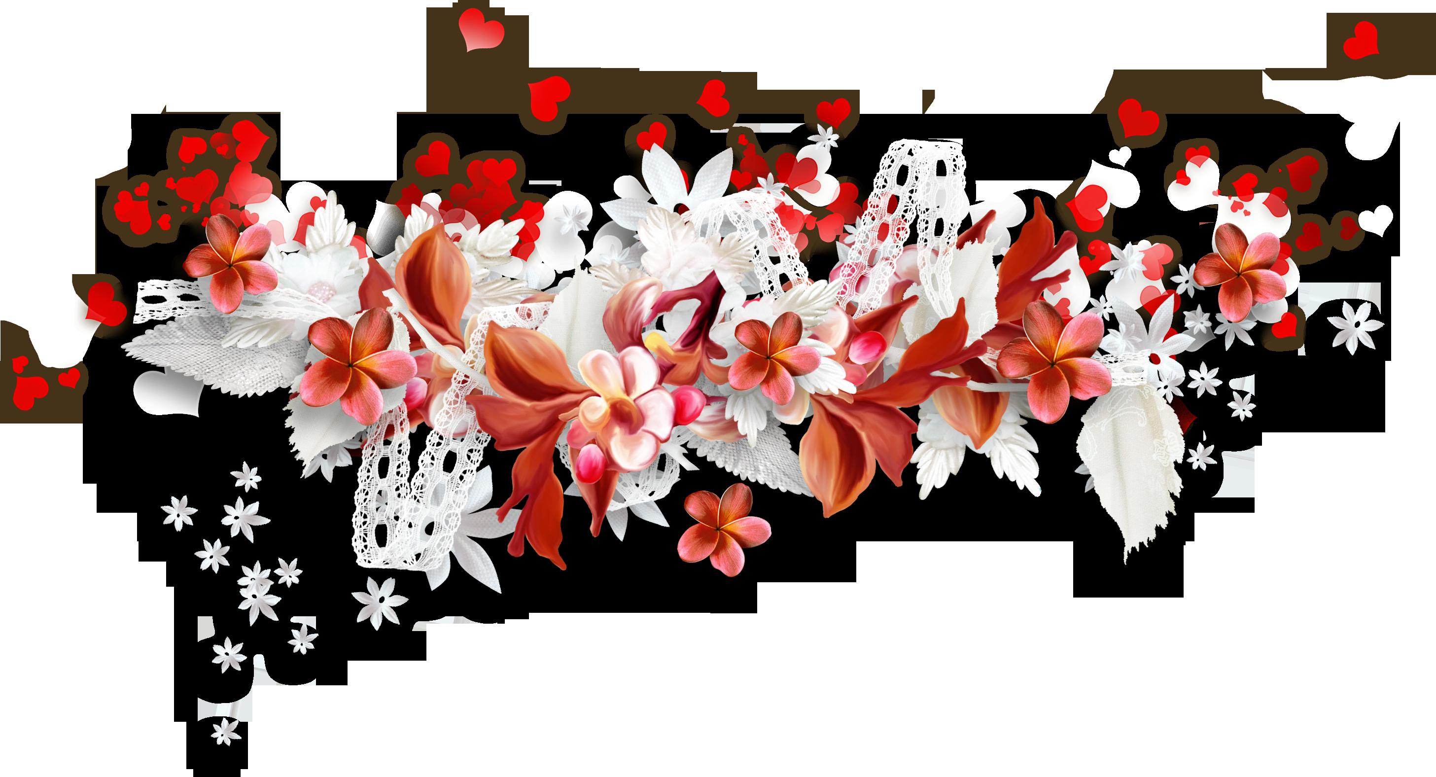 Орхидея цветок из ткани 104