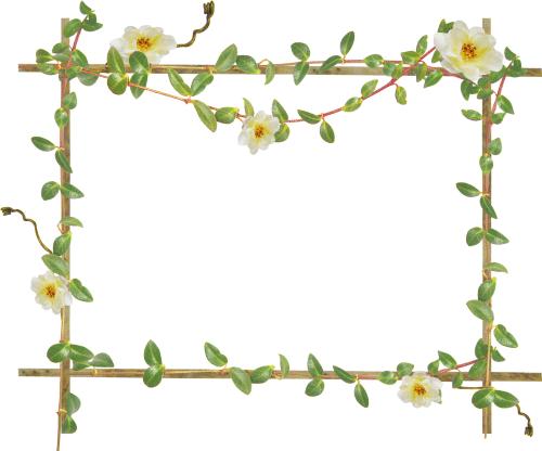 цветочная фоторамка