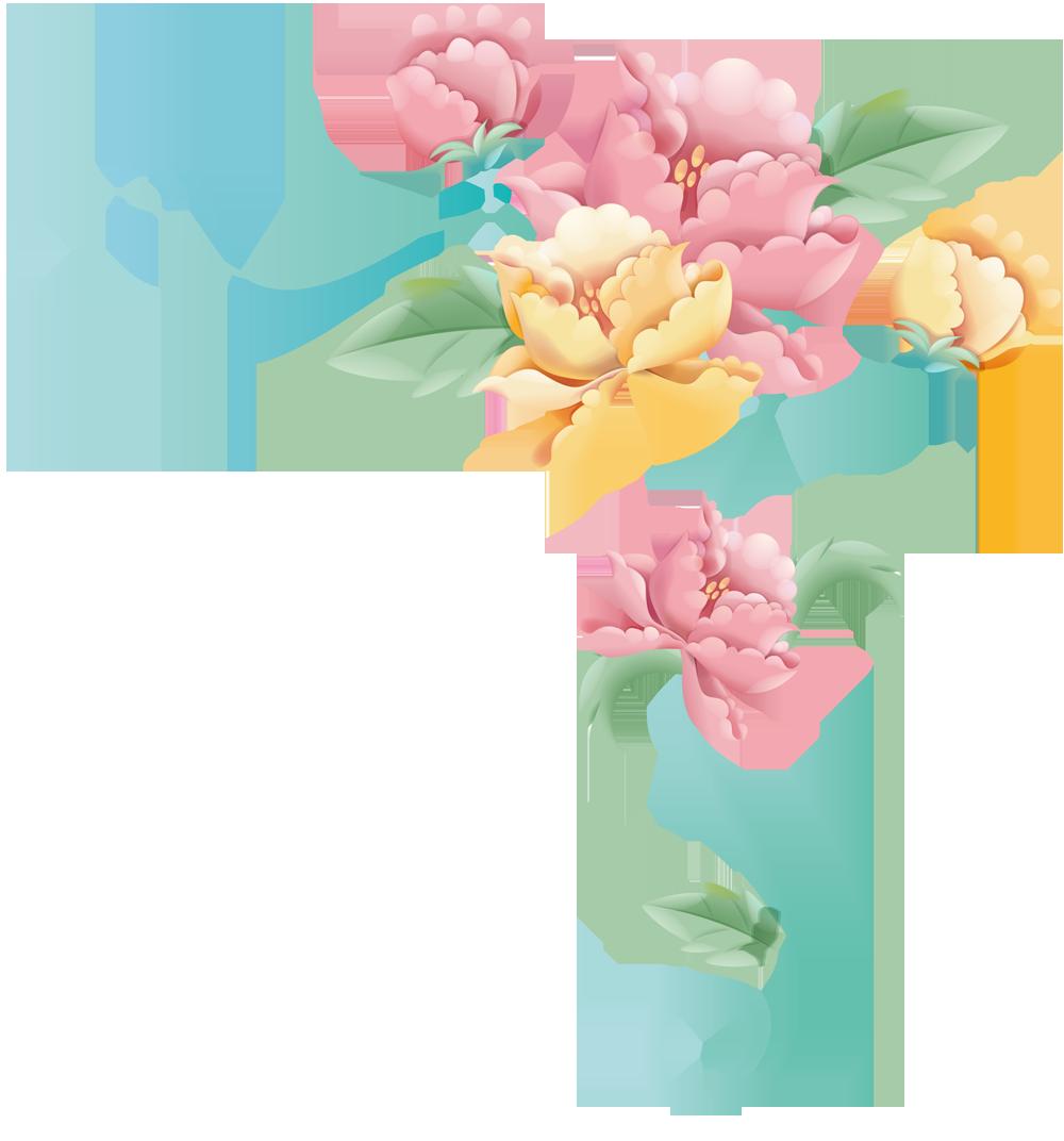Фото в пастельных тонах цветы 65